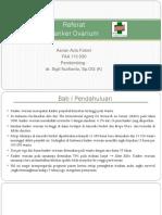 PPT (Referat) Kanker Ovarium