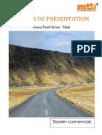 Dossier de Presentation Mth Rabat
