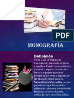 14° MONOGRAFÍA