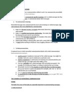 Communication Ch3 Summary
