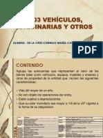 1503 Vehículos Maquinarias y Otros