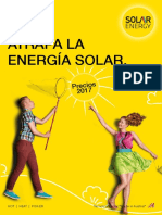 Tarifa Solar Energy 2017