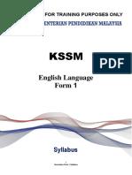 01 Syllabus Form 1