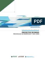 Informe Riego Mendoza y San Juan