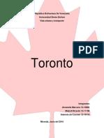 Trabajo Urbanismo Toronto