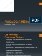 FISIOLOGIA RENAL Tasa de Filtracion Glomerular Dra.viera