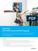 Samsung SMART Signage_PHF_PMF Series Datasheet_WW