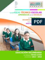 Secundaria 3a Sesión Cte 2017 18 Guia