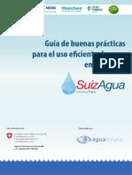 Guía de Buenas Prácticas Para El Uso Eficiente Del Agua en Empresas