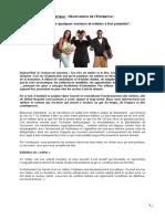 article Observatoire de l'Entreprise - LES METIERS D'AVENIR.doc