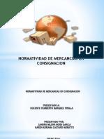 NOrmatividad de Mercancias en Consignación.