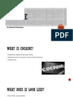 cocaine presentation