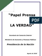 Papel Prensa. Informe Final