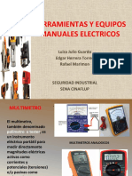 Herramientas y Equipos Manuales Electricos
