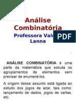 Analise Comb e Probabilidades