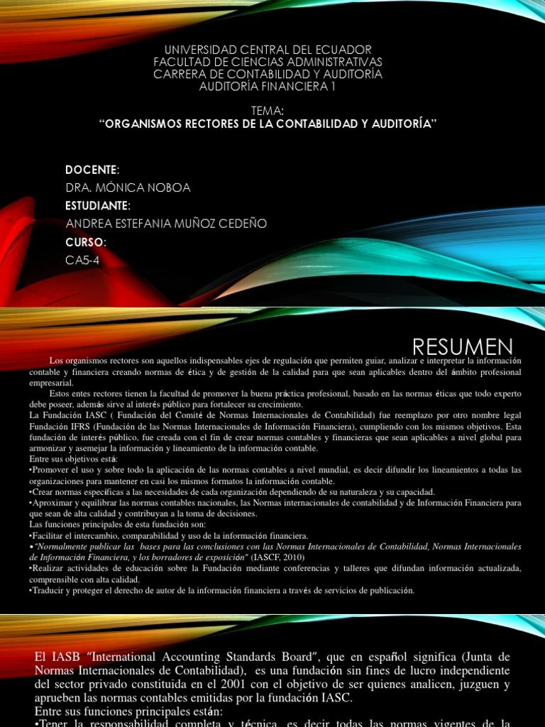 Andrea Estefania Muñoz Cedeño-Organismos Rectores