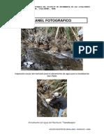 Inspección Ocular Del Riachuelo Para El Aforamiento de Agua Para La Localidad de San Pablo