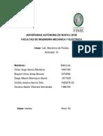 Practica 10 laboratorio mecánica de fluidos