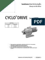 Manual Redutor Sumitomo Cyclo Drive S6000
