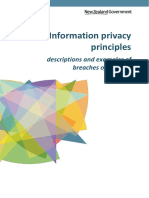 Information Privacy Principles
