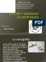 Defensa y Seguridad en Cartografía