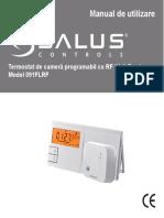 Termostat Salus 091 FL RF Fisa Tehnica
