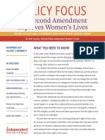 The Second Amendment Improves Women's Lives | Policy Focus