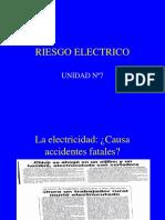 UNIDAD Nº7 Riesgo Electrico