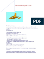 158676808 Como Hacer Un Sismografo Casero