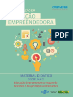 Educação Empreendedora - Resgate Do Histórico e Dos Princípios Constituintes