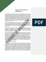 Protocolo de Desnutrición O BAJO PESO