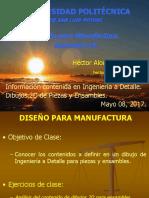 Presentación 3 - DpM - Ingeniería a Detalle en ensambles. - 2016.pptx