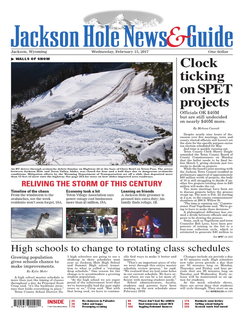 Clock ticking On Spet projects: High schools to change to