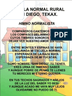 Himno escuela de Normal de Tekax