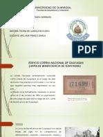 Analisis Edificio de La Loteria Nacional de Guayaquil