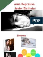 Trastorno Depresivo Persistente Distimia Diapositiva