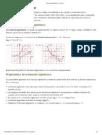 Función logarítmica -