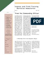 WFTBn Aug Newsletter