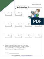 3 Digit by 2 Digit Multiplication SAWQE