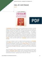O Individualismo, De Louis Dumont