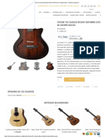 Taylor T5z Classic Deluxe Guitarra eléctrica de cuerpo hueco