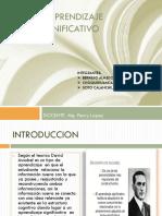 Diapositivas El Aprendizaje