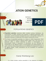 Ppt Population Genetics