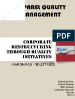 168639163 Corporate Restructuring Through Quality Initiatives Copy
