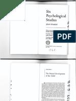 Six Psychological Studies, Ch 1