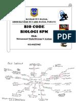 Bio Code Shahril-Lizan