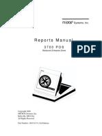 Micros 3700 Reports Manual