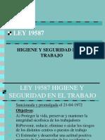 Ley 19587 CHARLA 08-06-12