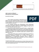 Qué somos los chilenos. Glosa para los concstituyentes..pdf
