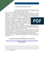 Fisco e Diritto - Corte Di Cassazione n 10961 2010